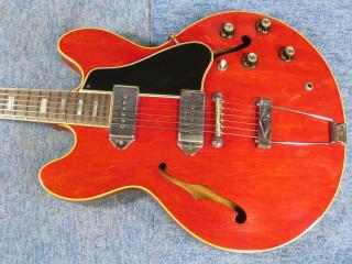 Gibson ES-330、リペア、ナインス、杉並、メンテナンス、修理