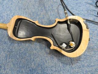エレキバイオリン、配線、リペア、修理、ピックアップ、杉並