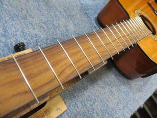 クラシックギター、エレガット、リペア、修理、ナインス、杉並、リフレット