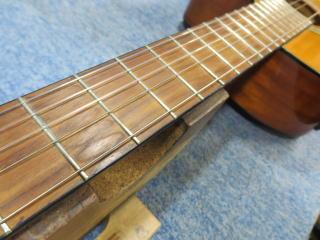 クラシックギター、エレガット、リペア、修理、ナインス、杉並、フレット