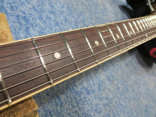 Gibson Les Paul Jr Special、リペア、修理、ナインス、杉並、高円寺、メンテナンス、フレット