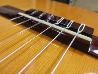 クラシックギター、エレガット、リペア、修理、ナインス、杉並、弦高