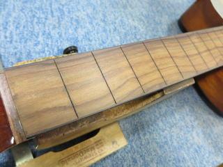 クラシックギター、エレガット、リペア、修理、ナインス、杉並、指板