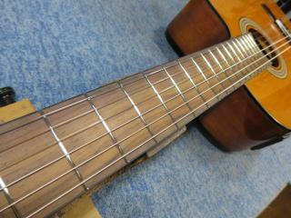 クラシックギター、エレガット、リペア、修理、ナインス、杉並、フレット交換