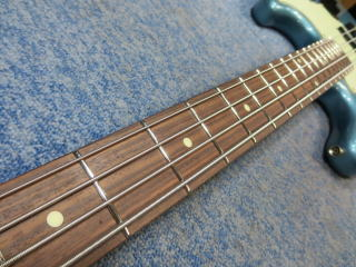 Grassroots Jazz Bass、ベース、リペア、修理、ナインス、杉並、メンテナンス、ネック調整
