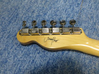 Fender Jimmy Page Telecaster、ナインス、修理、リペア、杉並、高円寺、ジミーペイジ