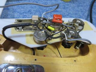 リッケンバッカー、スイッチ、ナインス、リペア、修理、ベース