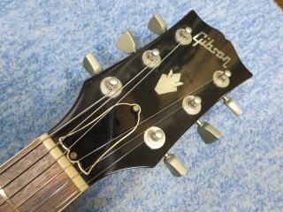 Gibson ES-335TD、修理、ナインス、杉並、東京、リペア、ネック、ナット
