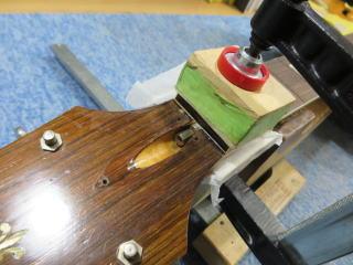 Harmony H65、ナインス、リペア、修理、杉並、ビザール、指板修理