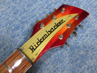 Rickenbacker 660、修理、ナインス、リペア、ネック、リッケンバッカー