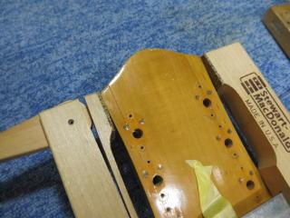 Harmony H65、ナインス、リペア、修理、杉並、ビザール、クラック
