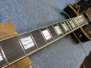 Gibson Les Paul Custom、ナインス、修理、リペア、杉並、高円寺、フレットすり合わせ
