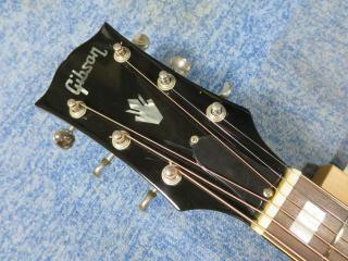 Gibson SJ DELUXE、修理、ナインス、杉並、高円寺、リペア、メンテナンス