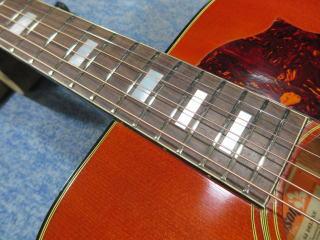 Gibson SJ DELUXE、修理、ナインス、杉並、高円寺、リペア、フレット