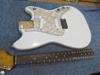 Fender Duo Sonic、ナインス、修理、リペア、杉並