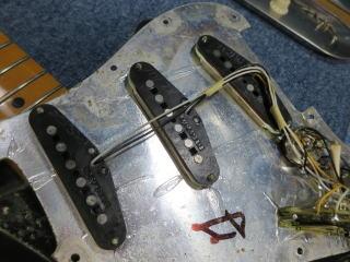 Stratocaster、修理、ナインス、ninth、杉並、、東京、リペア、メンテナンス、配線