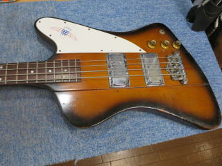 Gibson Thunderbird、修理、ナインス、杉並、東京、リペア