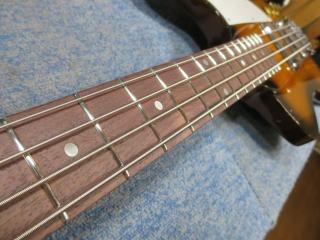 Gibson Thunderbird、修理、ナインス、杉並、東京、リペア、ネック反り