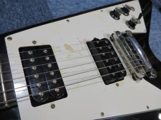 Gibson Flying V、修理、ナインス、東京、杉並、リペア、メンテナンス、ピックアップ
