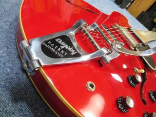 Gibson ES-335、修理、ナインス、杉並、東京、リペア、ビグスビー、メンテナンス