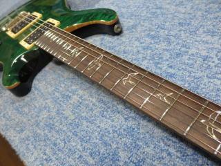 PRS Custom 24 Rosewood Neck、修理、ナインス、東京、リペア、ネック、フレット