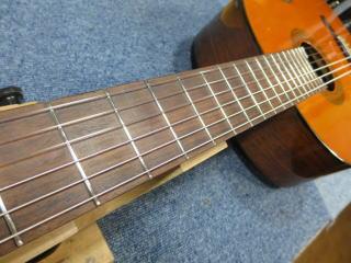 信濃クラシックギター、修理、リペア、ナインス、杉並、東京、弦高、ネック