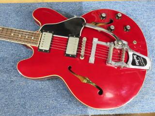 ギブソンES-335、ネック折れ、修理、ナインス、東京、リペア、メンテナンス