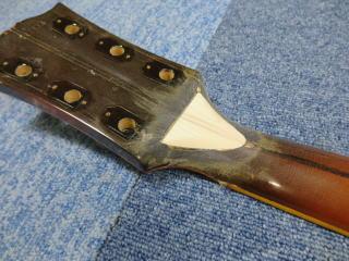 Gibson J-200、ネック折れ、修理、ナインス、東京、リペア、ギブソン、補強