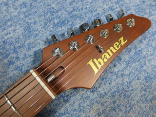 Ibanez Prestige AZ2402 BKF、修理、ナインス、東京、リペア、メンテナンス、ナット