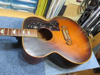 Gibson J-200、ネック折れ、修理、ナインス、東京、リペア、ギブソン