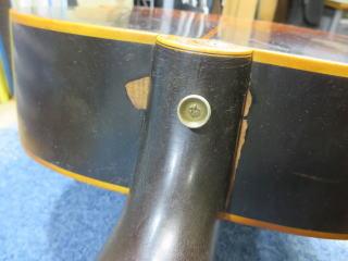 Gibson J-200、ネック折れ、修理、ナインス、東京、リペア、ギブソン、ボディ