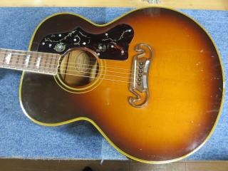 Gibson J-200、ネック折れ、修理、ナインス、東京、リペア、ギブソン、メイプル