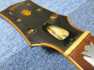 Gibson J-200、ネック折れ、修理、ナインス、東京、リペア、ギブソン、バインディング