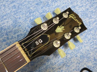Gibson SG、修理、ナインス、杉並、東京、リペア、メンテナンス、ナット
