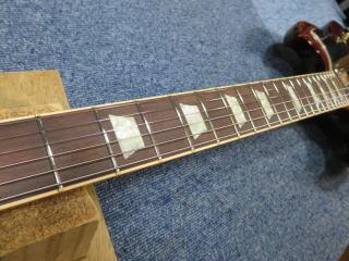 Gibson SG、修理、ナインス、杉並、東京、リペア、メンテナンス、ネック