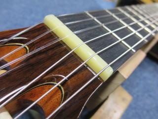 New World Guitars、クラシック、修理、ナインス、杉並、東京、ナイロン弦、ネック