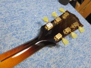 Gibson J-200、ネック折れ、修理、ナインス、東京、リペア、ギブソン、ペグ