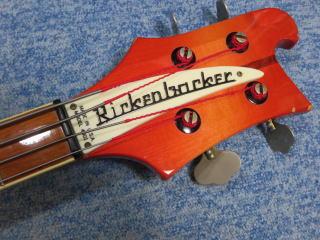 RICKENBACKER 4001、修理、ナインス、杉並、東京、リペア、ナット