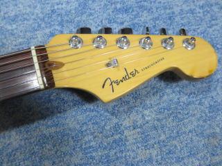 Fender American Deluxe Stratocaster、修理、ナインス、杉並、東京、リペア、メンテナンス、ナット