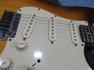 Fender American Deluxe Stratocaster、修理、ナインス、杉並、東京、リペア、メンテナンス、ピックアップ