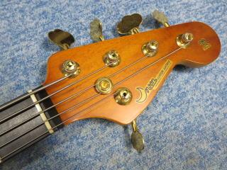 Moon Jazz Bass、プリアンプ、修理、ナインス、杉並、東京、高円寺、リペア