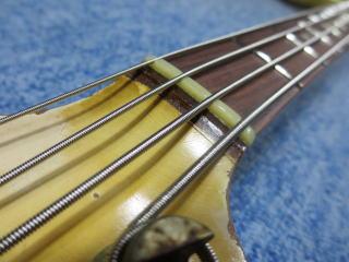 Fender Jazz Bass、修理、杉並、高円寺、東京、リペア、ナインス、ナット