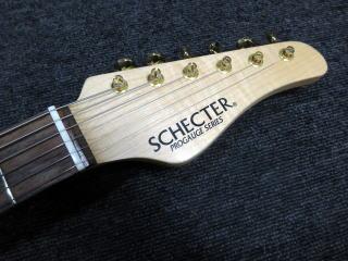 Schecter PS-PT-SP、修理、杉並、東京、ナインス、リペア、シェクター、ナット
