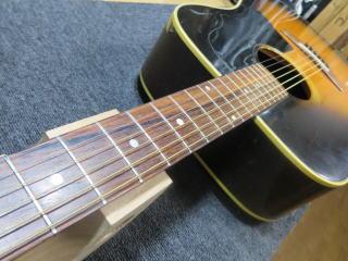 Gibson J-45/50、修理、杉並、東京、ナインス、高円寺、リペア、メンテナンス、弦高