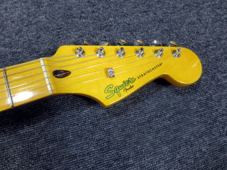 Squier Stratocaster、杉並、東京、ナインス、修理、リペア、スクワイヤー