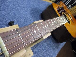 Gibson J-55、ネック修理、リペア、ナインス、東京、杉並、高円寺、フレット交換