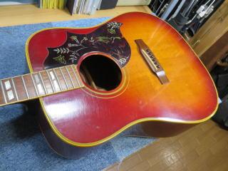 Gibson Hummingbird、ネック折れ、修理、杉並、東京、ナインス、リペア