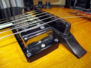 Gibson ES-175、修理、リペア、東京、杉並、ナインス、トップ落ち矯正、アーチトップ