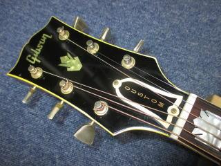 Gibson J-200 1969年製、杉並、東京、ナインス、リペア、修理、メンテナンス、ナット