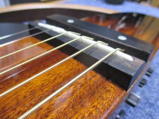 ヤマハ・サイレントギター、ナインス、杉並、東京、メンテナンス、リペア、修理、サドル調整